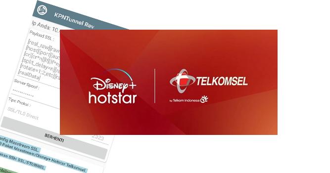 Config Paket Disney+ Hotstar Telkomsel