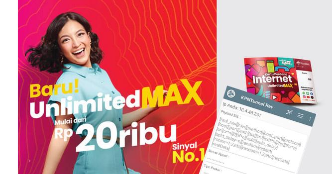 Telkomsel Unlimited MAX