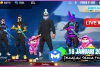 Kode Redeem FF 18 Januari 2021 Server Indonesia