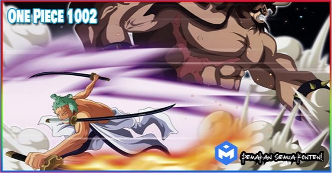 Spoiler One Piece 1002, Luffy Lepas Kekuatan Haki
