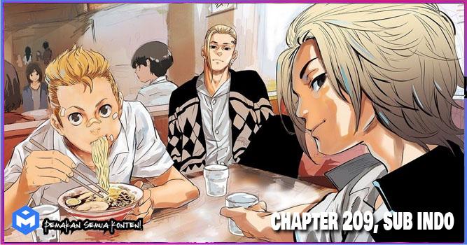 Tokyo Revengers Chapter 209 Bahasa Indonesia